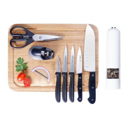 סט סכינים מאסטר שף-מתנות לפסח