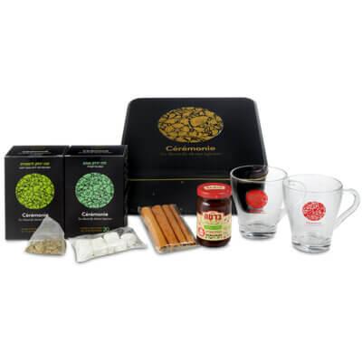 מארז תה משובח-מתנות לפסח,מתנות לחורף,מתנה לעובדים