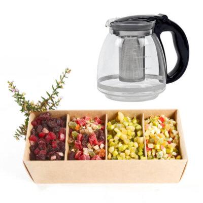קנקן וחליטת תה גורמה-מתנות לחורף