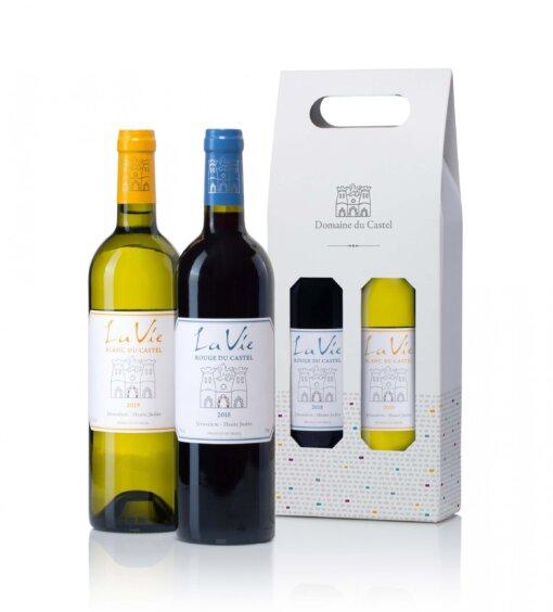 יין קסטל בזוג-מתנות לפסח, מארזי יין