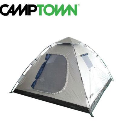 אוהל פתיחה מהירה INSTANT ל - 6 אנשים CAMPTOWN-טיולים וקמפינג