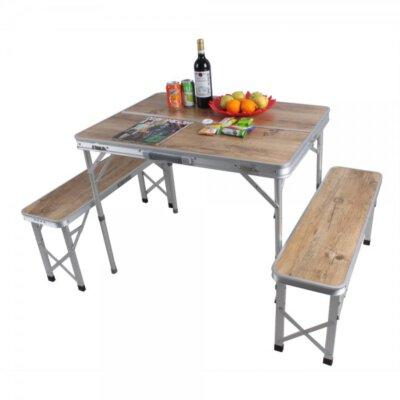 שולחן פיקניק מתקפל שיק-מוצרים לטיולים וקמפינג