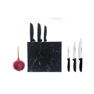 סט 3 סכינים ארקוס-כלי בית