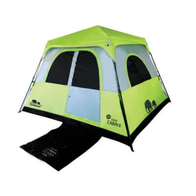 אוהל קמפינג ל-6 אנשים RAPID CABIN UPF50 GoNature -מוצרים לטיולים וקמפינג
