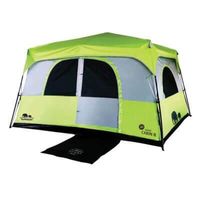 אוהל קמפינג ל 8 GoNature RAPID CABIN UPF50 -מתנות לטיולים וקמפינג