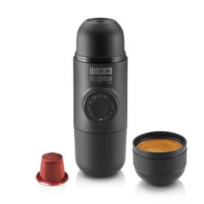 מכונת אספרסו לשטח Minipresso NS-מוצרים לטיולים וקמפינג