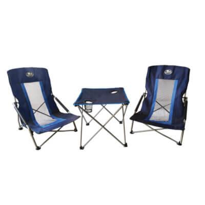סט 2 כסאות + שולחן לחוף LAPLAYA -מוצרים לטיולים וקמפינג