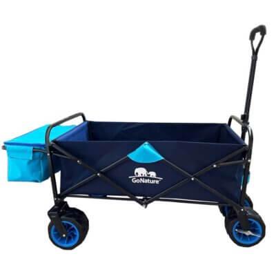 עגלה עם צידנית וגלגל שטח רחב LAND WAGON-מוצרים לטיולים וקמפינג