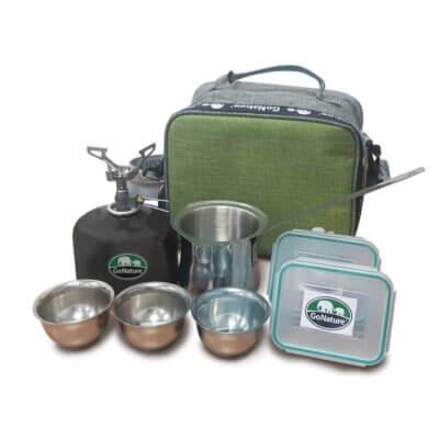 ערכת קפה טיטניום-מוצרים לטיולים וקמפינג