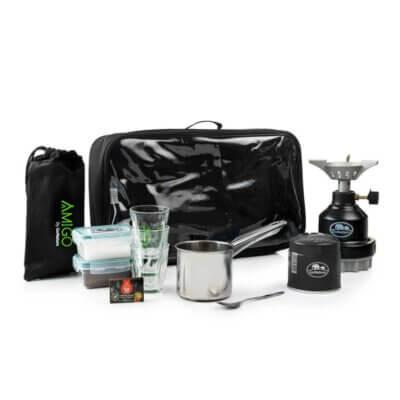 ערכת קפה AMIGO-מוצרים לטיולים וקמפינג
