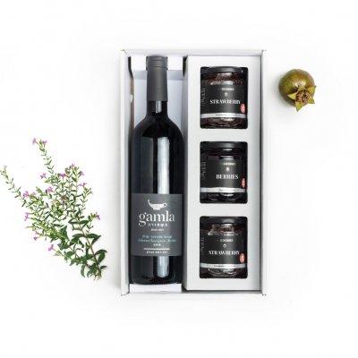 גמלא וקונפיטורות-מארזי שי ומארזי יין