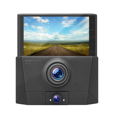 מצלמת דרך לרכב עם 3 עדשות צילום DVR-43-מכשירי חשמל ואלקטרוניקה