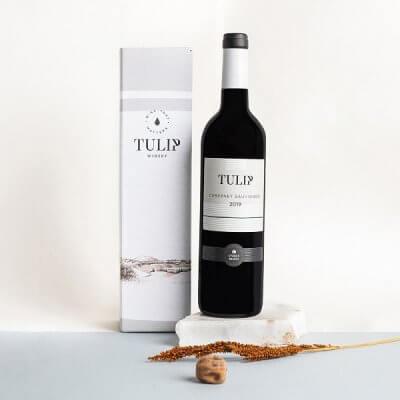 יין טוליפ במארז מתנה-מארזי יין