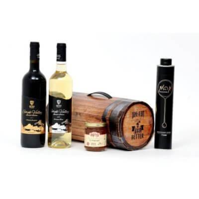 מארז יין וחבית-מארזי יין