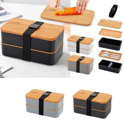 קופסת אוכל במבוק-כלי בית