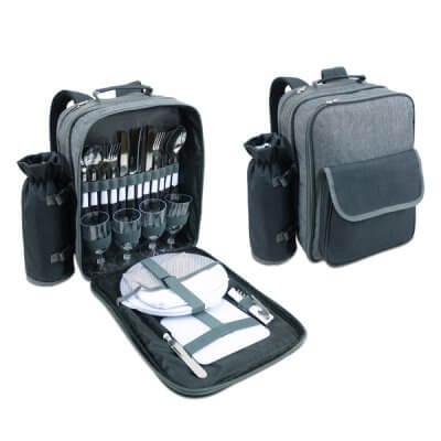צידנית גב שיק עם כלים ל-4 סועדים-מתנות לטיולים