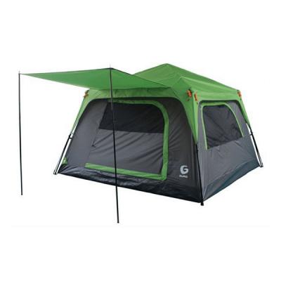 אוהל PANORAMA 6 ירוק GURO-מוצרים לטיולים וקמפינג